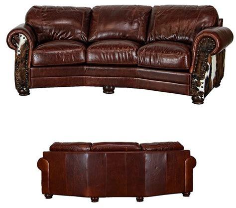 rustic brown leather sofa dallas designer furniture leathercowhide rustic sofa set