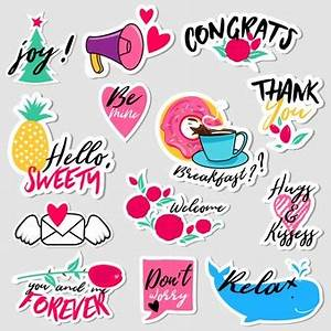 sticker vectors photos and psd files free download With create stickers online