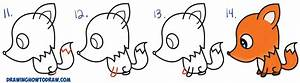 Fox Drawing For Kids Step By Step