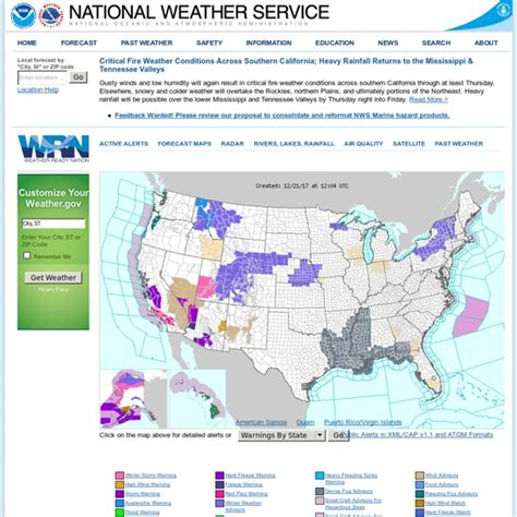 nws weather source the knownledge