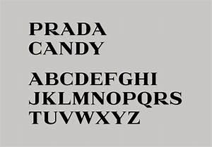 s e e n http ffffoundcom image With prada lettering
