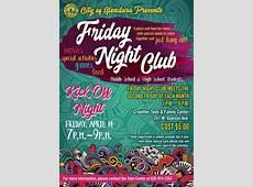 Friday Night Club For Special Needs Teens Glendora City News