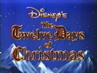 disney sing  songs  twelve days  christmas