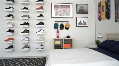 hypebeast ikea sneakerhead bedroom