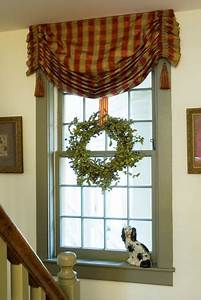 Cottage window treatment for the home pinterest for Interior decorator window treatments