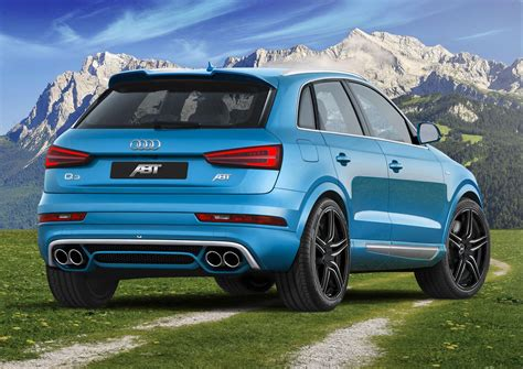 audi q3 tuning audi q3 with abt cosmetic tuning and 210 hp upgrade audi q3 forum