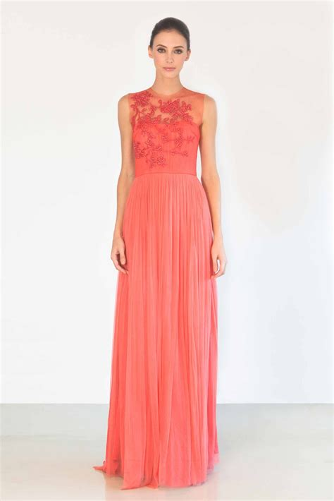 coral colored bridesmaid dresses coral color wedding dress for brides bridesmaids of the groom weddings