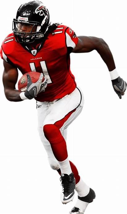 Football Player American Jones Falcons Atlanta Clipart