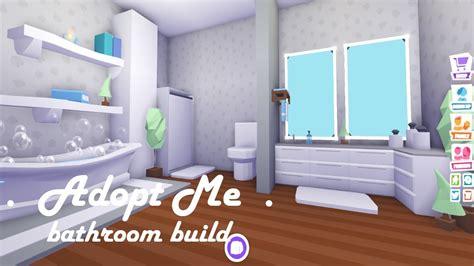 bathroom build adopt  build hacks youtube