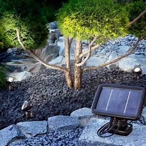 Spot Solaire Extérieur : trio spot solaire led achat vente trio spot solaire ~ Melissatoandfro.com Idées de Décoration