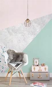 Salon Gris Et Rose : best deco salon vert deau ideas design trends 2017 ~ Preciouscoupons.com Idées de Décoration