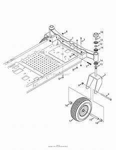 Mtd 17arcacw099  247 204191   Z6600   2015  Parts Diagram For Front Axle