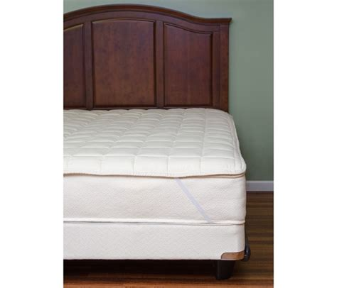 organic mattress topper quilted organic cotton mattress toppers king size
