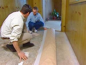How to install vinyl flooring how tos diy for How to install linoleum floor in bathroom