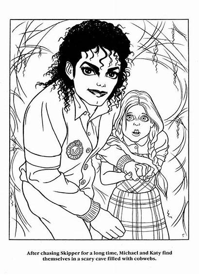 Coloring Pages Jackson Michael Printable Famous Colouring