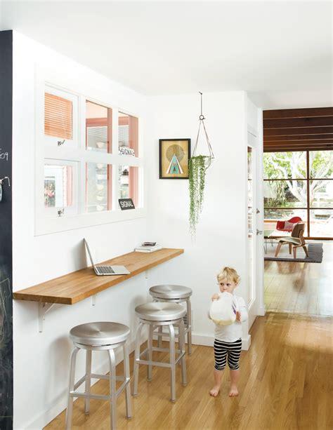 kitchen bar table against wall wall mounted breakfast bar cucina