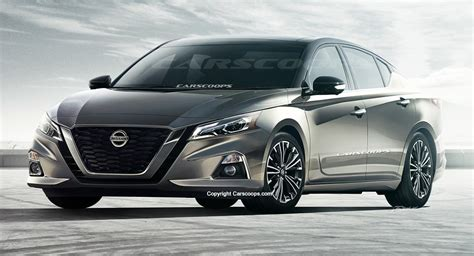 future cars  nissan altima brings  visual punch