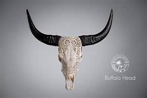 Tete De Buffle Deco : t te de buffle sculpt e ~ Dailycaller-alerts.com Idées de Décoration
