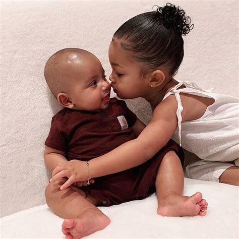 Kim Kardashian shares adorable photo of niece Stormi ...