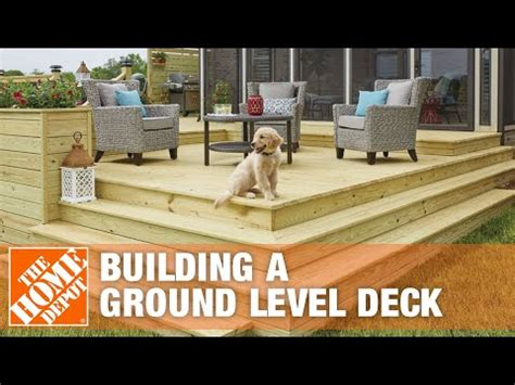 cost  build ground level deck tcworksorg