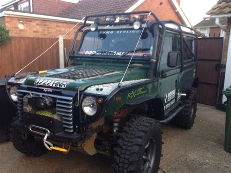 land rover jeep defender for sale defender full rollcage extreme front end for sale