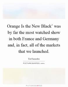Orange Is the N... New France Quotes