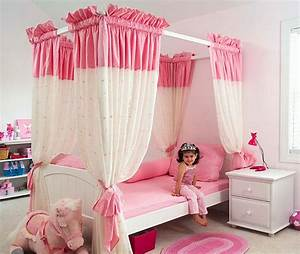 15 cool ideas for pink girls bedrooms digsdigs With bed room designs for girls