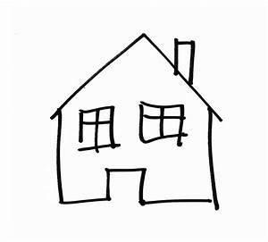 Haus Strichzeichnung Einfach : zeichnung haus geb ude kostenloses bild auf pixabay ~ Watch28wear.com Haus und Dekorationen