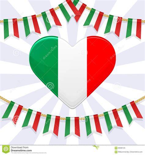 italian flag vector illustration stock vector illustration for national day of italy bunting ital
