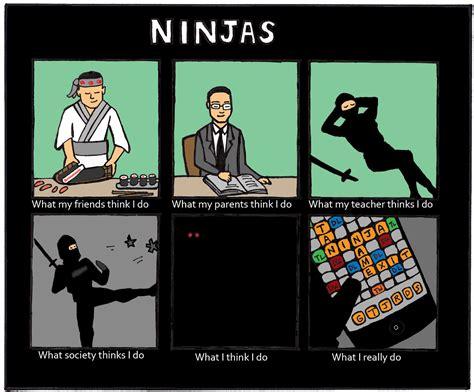 Ninja Meme - life on stilts ninja meme 2