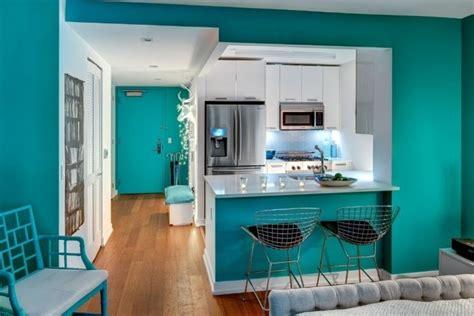 Peinture Cuisine Bleu Turquoise by D 233 Corer Les Murs D Une Peinture Turquoise 38 Id 233 Es D 233 T 233