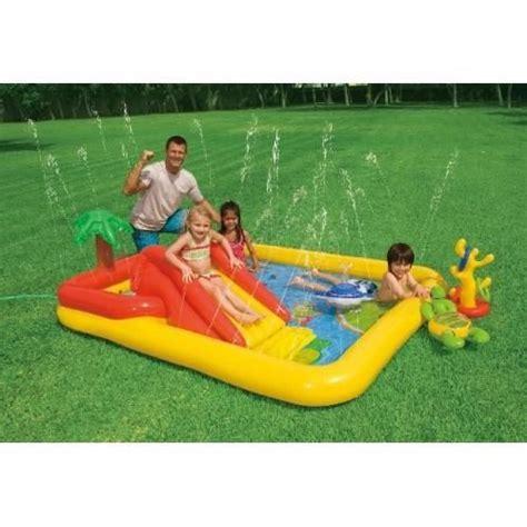 piscine aire de jeux palmier gonflable intex achat vente jeux de piscine cdiscount