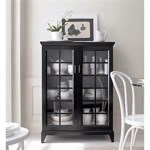 Black Cabinet Crate and Barrel
