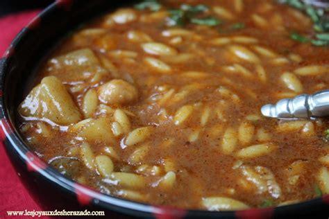 recette de cuisine chorba algérienne aux langues d 39 oiseaux les joyaux de