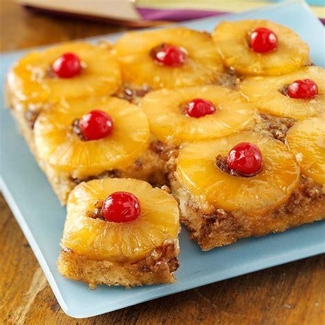 classic pineapple upside  cake recipe taste  home