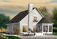drummond house plans Stunning A-Frame 4 bedroom cottage house plan - Drummond ...