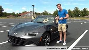Review  2016 Mazda Mx-5 Miata  Manual  Grand Touring