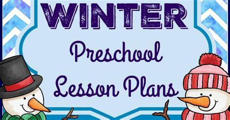 winter theme preschool lesson plans stay at home educator 584 | Winter Preschool Lesson Plasn Cover FB