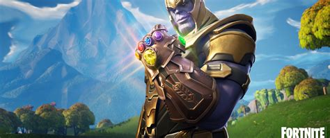 Download Thanos In Fortnite Battle Royale 1280x2120 Resolution Hd 4k Wallpaper