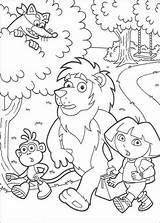 Coloring Swiper Dora Boots Library Clipart Clip Popular sketch template