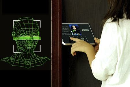 chinavision face recognition door lock science fiction