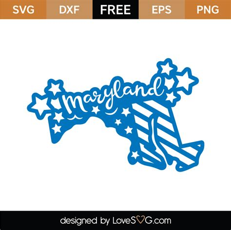 3,809,500+ free vector icons in svg, psd, png, eps format or as icon font. Free Maryland SVG Cut Files (4) | Lovesvg.com