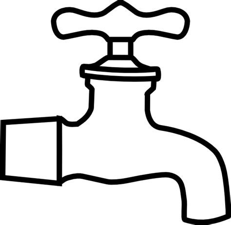 kitchen sink faucet faucet clip at clker com vector clip