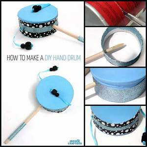 How to make a hand drum - Moms and Crafters
