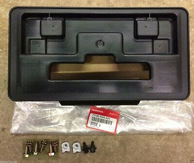Front License Plate Kit
