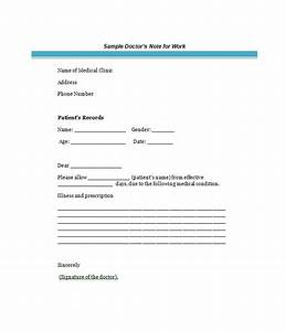 25 free doctor note excuse templates template lab With dr notes templates free