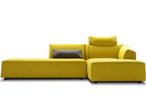 chaise longue design thea sofa with chaise longue by mdf italia design lina obregon carolina galan