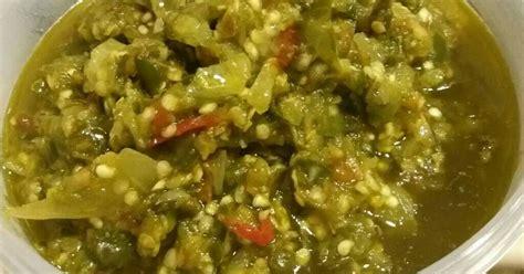 Biasanya sambal cabe ijo ini disajikan sebagai pelengkap hidangan masakan padang. Resep Sambal hijau khas padang oleh Mega Supriyatin - Cookpad