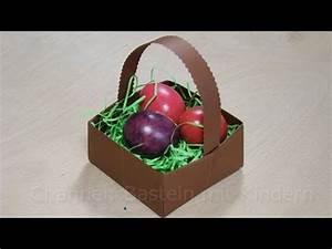 Was Kann Man Mit Servietten Basteln : osterk rbchen basteln ostern basteln mit papier osterkorb osterbasteln youtube ~ Orissabook.com Haus und Dekorationen