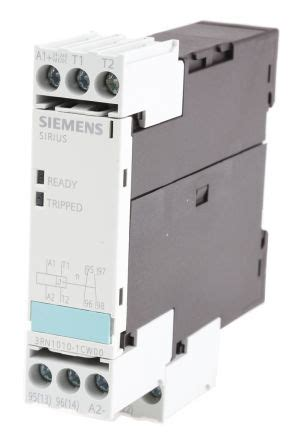 Rncw Siemens Temperature Monitoring Relay With